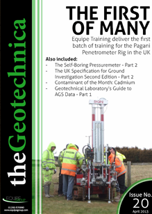 theGeotechnica April 2013 cover