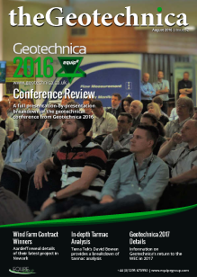 theGeotechnica August 2016 cover