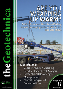 theGeotechnica February 2013 cover