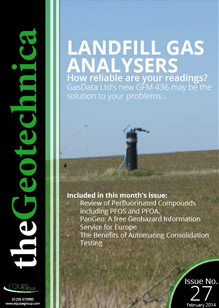 theGeotechnica February 2014 cover