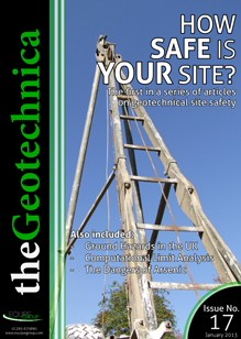 theGeotechnica January 2013 cover
