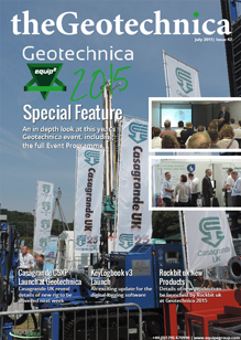 theGeotechnica July 2015 cover