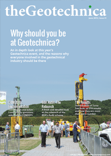 theGeotechnica June 2015 cover