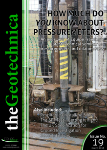 theGeotechnica March 2013 cover