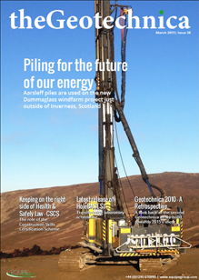 theGeotechnica March 2015 cover