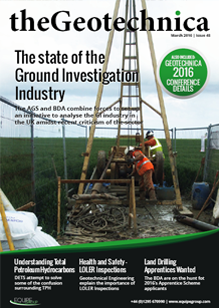 theGeotechnica March 2016 cover