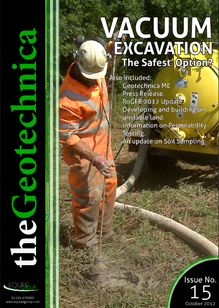 thegeotechnica October 2012 cover