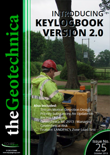 theGeotechnica October 2013 cover