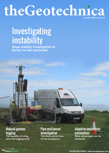theGeotechnica October 2014 cover