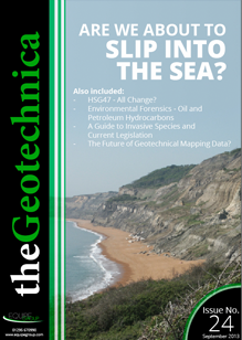 theGeotechnica September 2013 cover