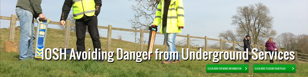 IOSH avoiding danger from underground services image