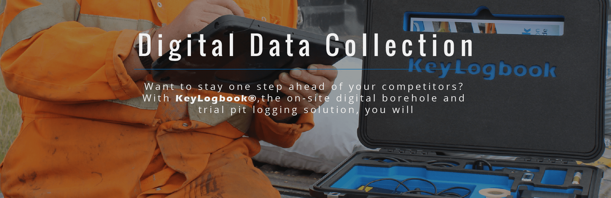 KeyLogbook - On-site Digital Data Collection Logging System