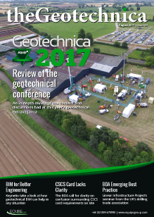theGeotechnica August cover