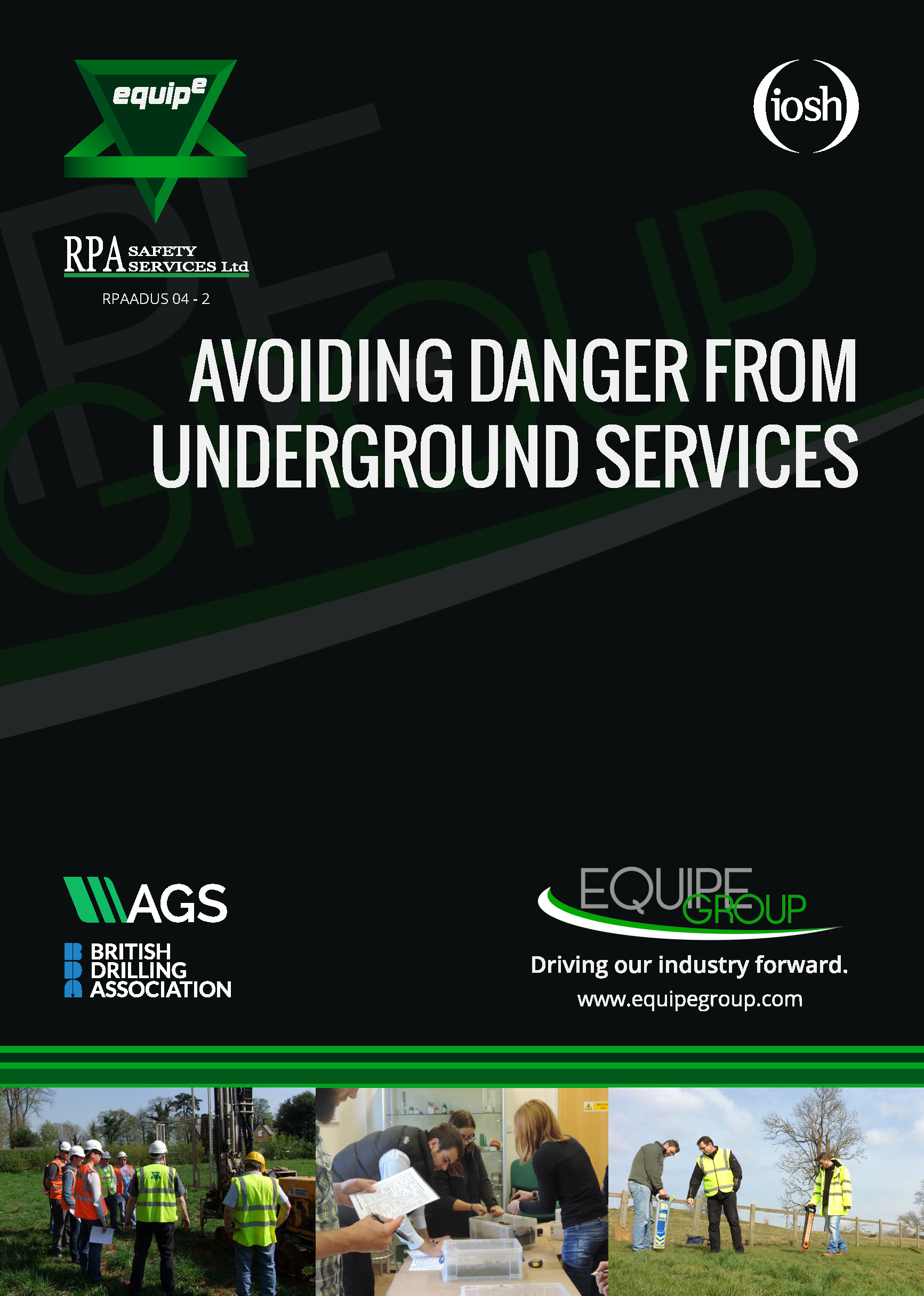 IOSH Avoiding Danger from Underground Services Course Booklet