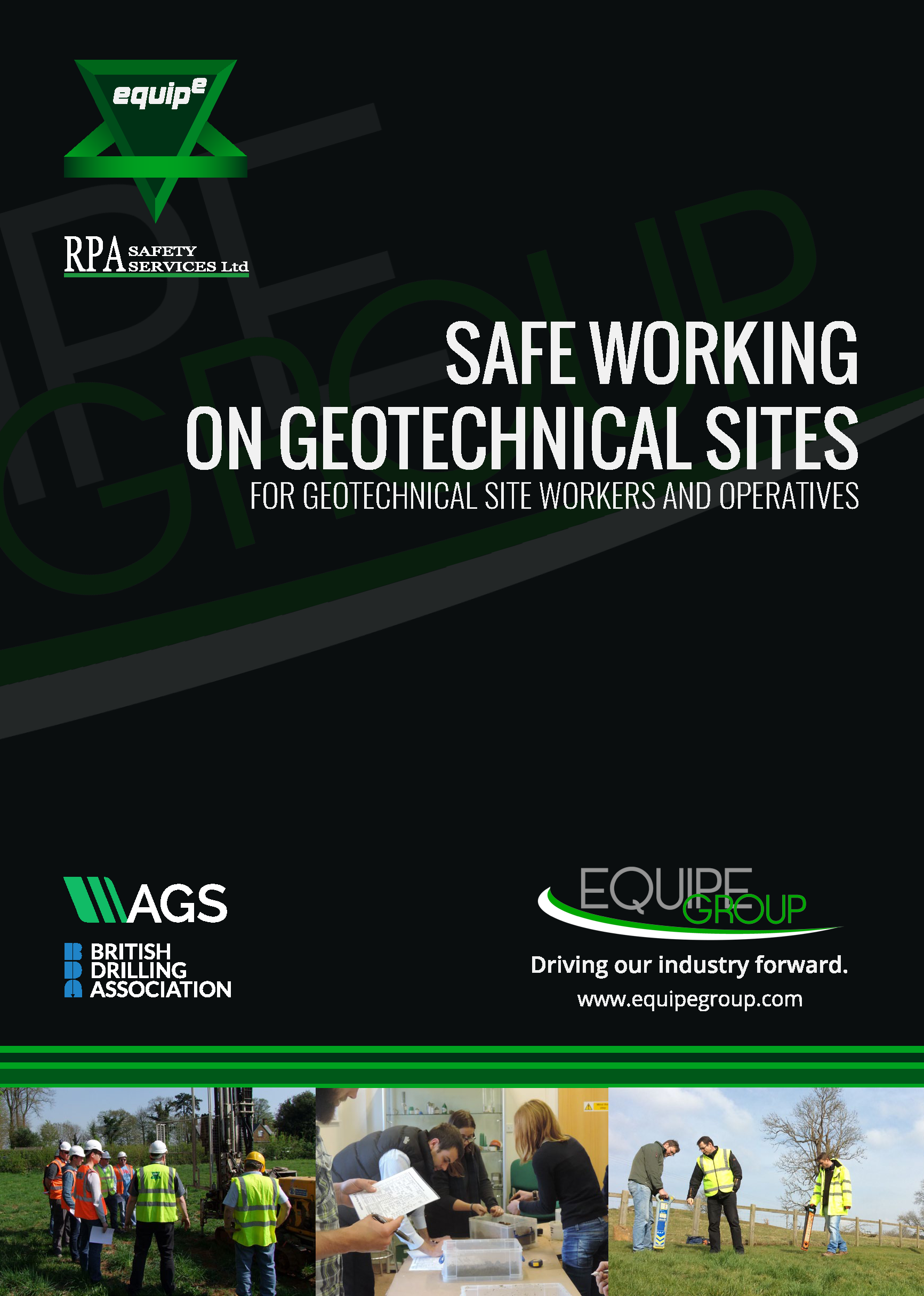 Safe Working on Geotechnical Sites Course Booklet