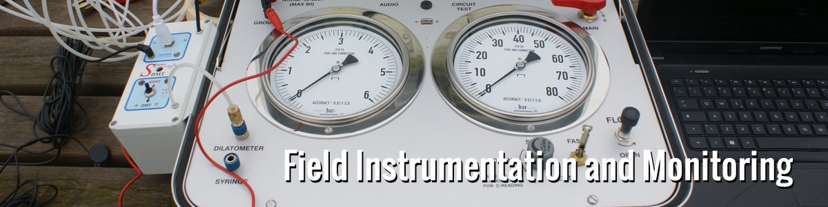 Field Instrumentation and Monitoring image